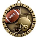 Football 3-D 3-D Series Medal Awards