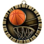 Basketball 3-D 3-D Series Medal Awards