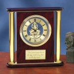 Large Clock with Exposed Gears Achievement Awards
