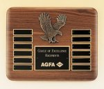 Eagle American Walnut Perpetual Plaque Achievement Awards