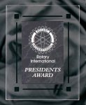 Black Marble Acrylic Award Recognition Plaque Acrylic Plaques