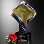 Golden Twist Artistic Glass Awards