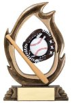 Flame Series -Baseball Baseball Trophy Awards
