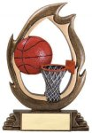 Flame Series -Basketball Basketball Trophy Awards