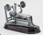 Weightlifting Bench, Female Body Building Trophy Awards