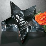 Slanted Star Paperweight Boss Gift Awards