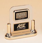Acrylic Clock With LCD Movement Boss Gift Awards