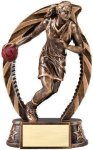 Bronze and Gold Award -Basketball Female Bronze and Gold Star Resin Trophy Awards