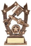 3D Sport Stars -Spark Plug Car/Automobile Trophy Awards