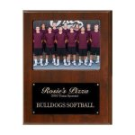 Team Sponsor Photo Plaque Cast Relief Plaques
