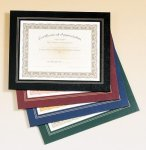 Leatherette Frame Certificate Holder Certificate Holders