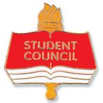Student Council Lapel Pin Chenille Lapel Pins