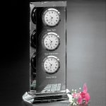 Trilogy Clock Clock Crystal Awards