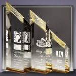 Tower Colored Acrylic Awards
