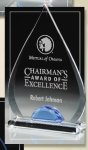 Tear Drop Colored Acrylic Awards