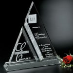 Aztec Award Crystal Glass Awards
