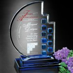 Azure Moon Crystal Glass Awards