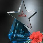Azure Star Crystal Glass Awards