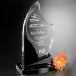 Panache Award Crystal Glass Awards
