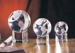 Spinning Globe on Base Employee Awards