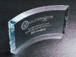 Curved Beveled Employee Awards