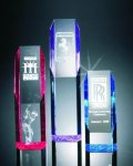 Slant Face Tower Acrylic Award Executive Acrylic Awards