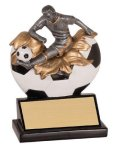 Xploding Resin -Soccer Male  Explosion Resin Trophy Awards
