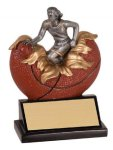 Xploding Resin -Basketball Female  Explosion Resin Trophy Awards