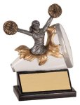 Xploding Resin -Cheer Female  Explosion Resin Trophy Awards