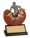Xploding Resin -Basketball Male  Explosion Resin Trophy Awards