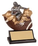 Xploding Resin -Football Male  Explosion Resin Trophy Awards