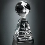 Global Pyramid Globe Crystal Awards
