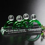 Foresome Award Golf Glass and Crystal Awards
