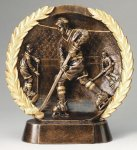 Resin Plate -Hockey Male Hockey Trophy Awards