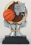 Impact Series -Basketball Impact Series Resin Trophy Awards