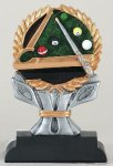 Impact Series -Billiards Impact Series Resin Trophy Awards