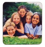 Coaster with Rubber Backing Kitchen Gifts
