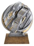 Motion X 3-D -Pinewood Derby Motion X Action 3D Resin Trophy Awards