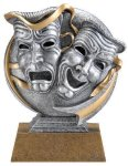 Motion X 3-D -Drama Motion X Action 3D Resin Trophy Awards