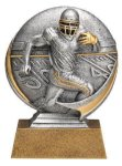 Motion X 3-D -Football Male  Motion X Action 3D Resin Trophy Awards