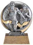Motion X 3-D -Track Male  Motion X Action 3D Resin Trophy Awards