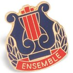 Ensemble Lapel Pin Music Trophy Awards