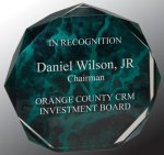 Marble Octagon Acrylic Award Octagon Awards