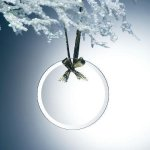 Beveled Jade Glass Round Ornament Ornaments