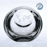Globe Dome Paper Weight Paper Weight Crystal Awards