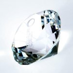 Diamond Paper Weight Crystal Awards