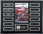 Ebony Finish Perpetual Plaque Photo Perpetual Plaques
