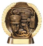 Resin Plate -Law Enforcement Police Police Trophy Awards