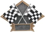 Diamond Plate Resin -Racing Racing Trophy Awards
