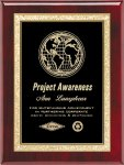 Roswood Piano Finish Plaque Sales Awards